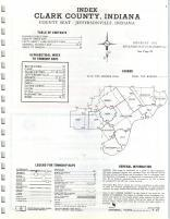 Index Map, Clark County 1972